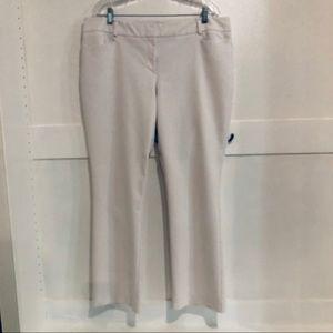 New York & Company White Slacks Pants